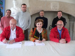 Signature de la Convention Tour du Limousin 2009