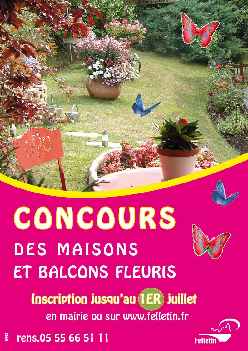 affiche concours fleurissement 2014