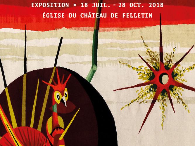 166def3e94f Exposition de tapisseries de l église du château   Marc Petit à l ...